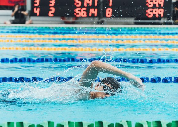 Swimmers Receive Boost from Backing the Best Programme